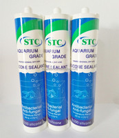 Waterproof Fast Cure Aquarium Silicone Adhesive Sealant