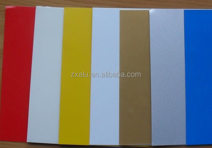 1050 H24 PVDF Color precoated aluminum sheet