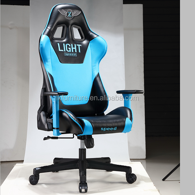 Popular Design Leather Video Game Chair With Speakers And Audio