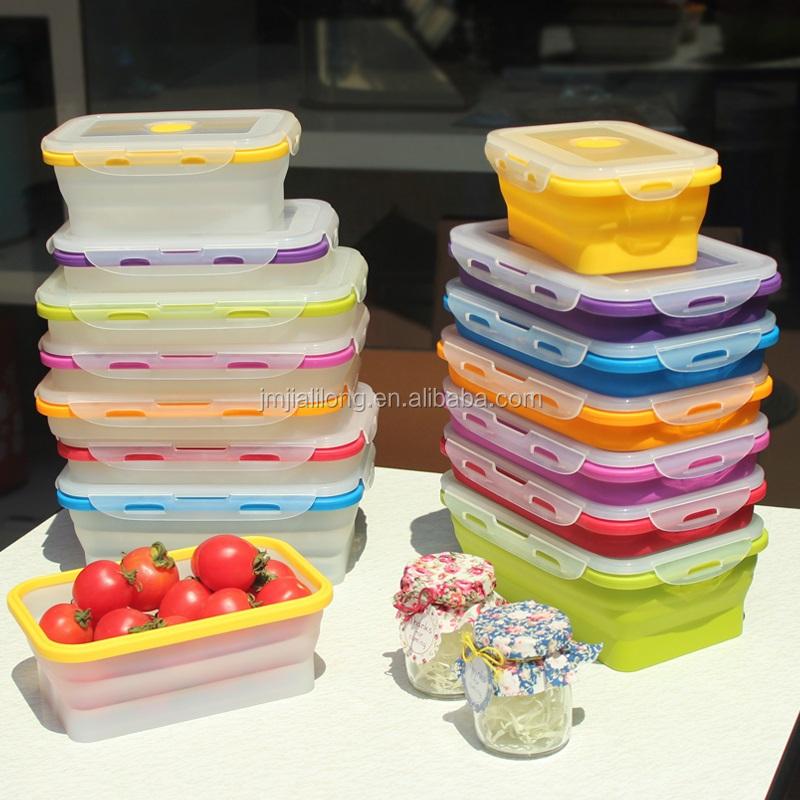 Caja de almuerzo microondas horno de silicona de grado alimenticio culturismo cajas y - Silicona para microondas ...