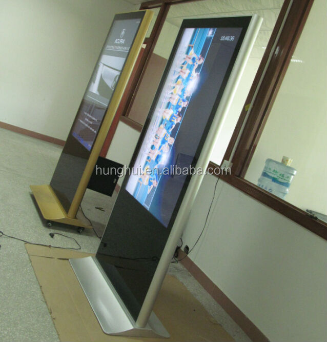 Best Quality network multi touch screen AD kiosk with Wifi