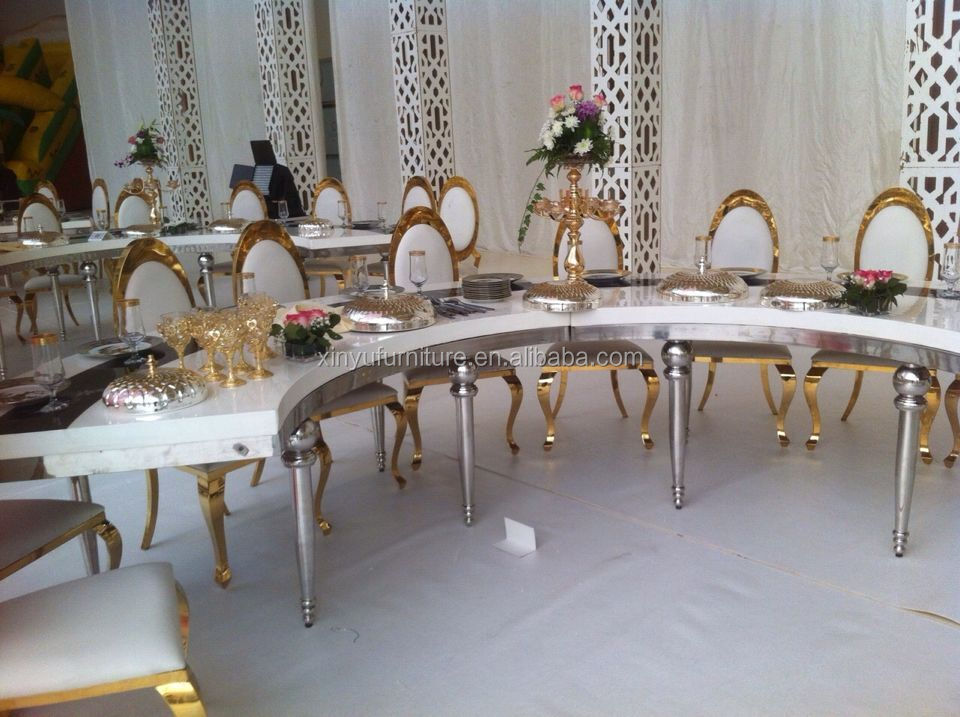 stainless chair for wedding event used XYN2627