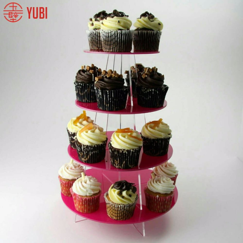 High quality best sell luxurious acrylic wedding cake stands