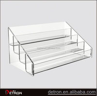Praticial hot 4 tier acrylic display riser