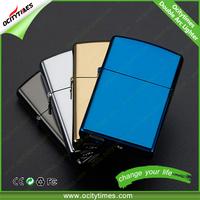 Ocitytimes Windproof lighter electronic cigarette double arc usb lighter accept custom lighter