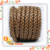 10mm *6.5mm classic brown nappa braided bolo cowhide leather cord