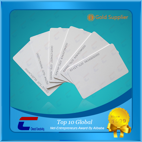 Cheapest Programmable LF T5577 RFID ID cards blank nfc card