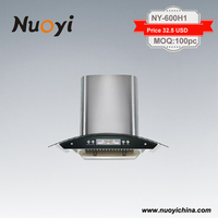 hot sale big oil collector cooker hood cheap price