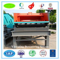 wholesale price iron ore heavy duty reliable wear-resist vibrating screen for mineral dressing plant dewatering machine