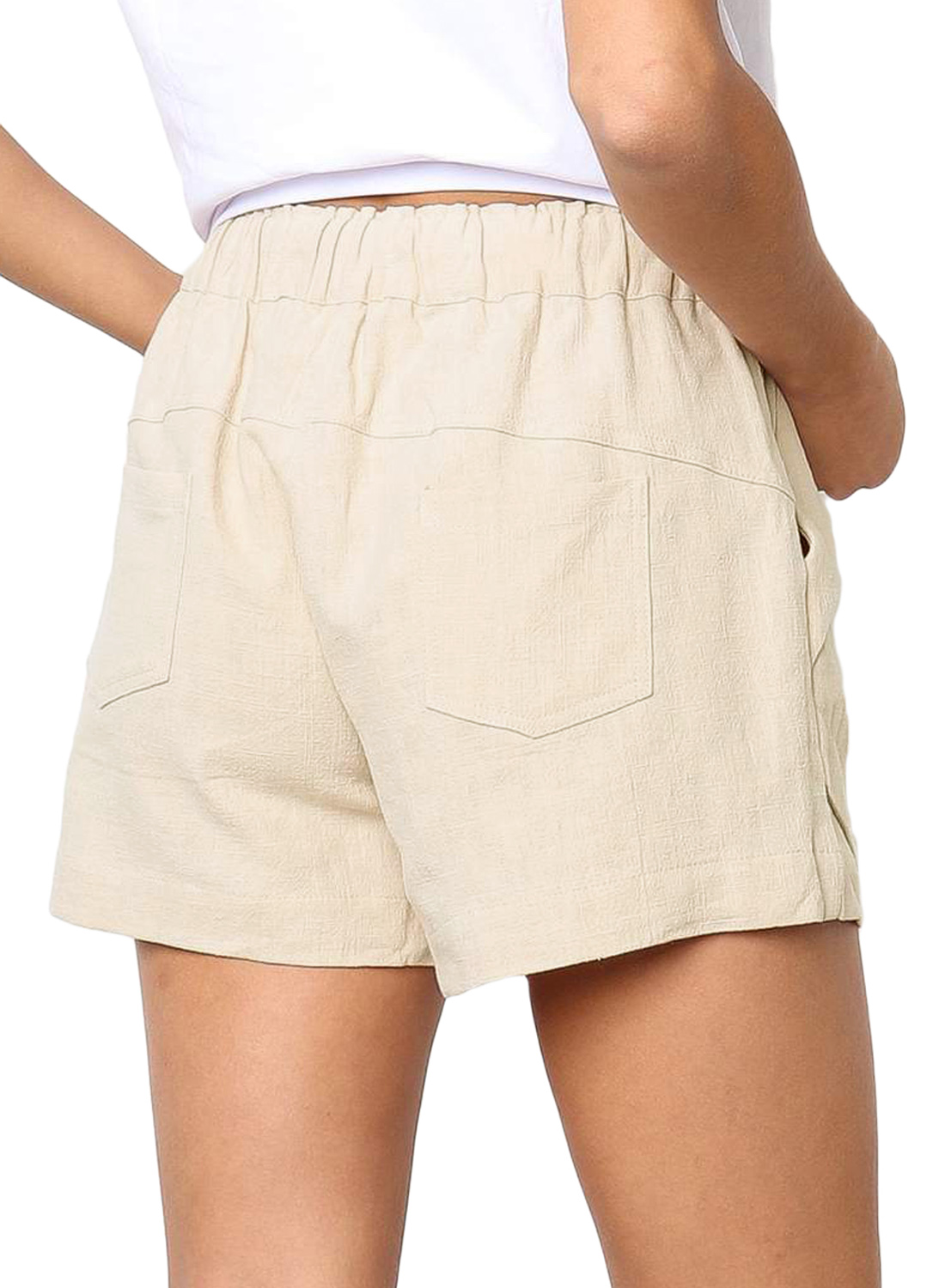 Fashion Ladies Casual Tie Shorts Pants