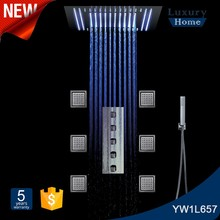 2016 SS 304 Ceiling LED Shower Head Faucet