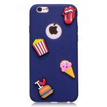 Cupcake Patch Rubber Phone Case For Iphone 7 Plus