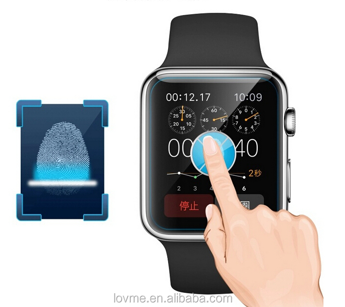 Premium 100% Temperd Glass Screen Protectors For Apple Watch 38mm and 42mm