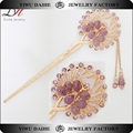 Daihe fancy crystal hair Pin