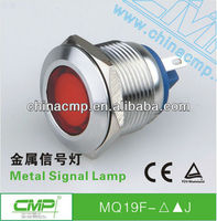 free samples export CMP brand 19mm Diameter Metal Pilot lamp with CE and TUV certifications