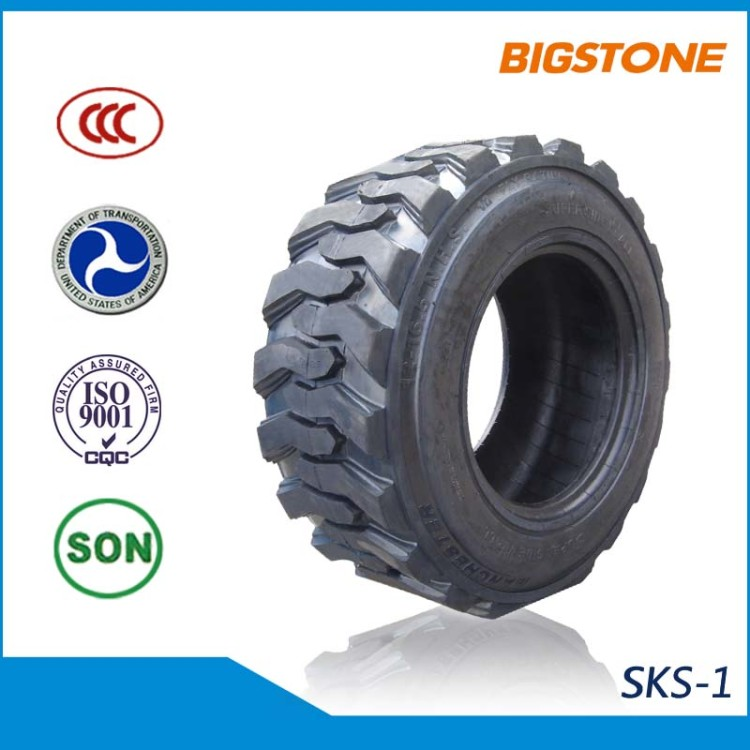 Hot Sale skid steer tires 12-16.5 for international market