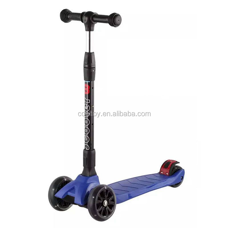 New kids toys foldable kick scooter with adjustable height