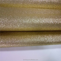 Hot sale glitter leather fabric wallpaper for bag garment curtains and so on
