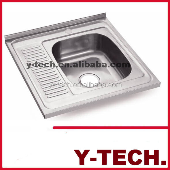 High quality kitchen sink single bowl stainless steel sink for High quality kitchen sinks