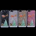 Quicksand Christmas Phone Case Hard PC Case for iPhone 6S