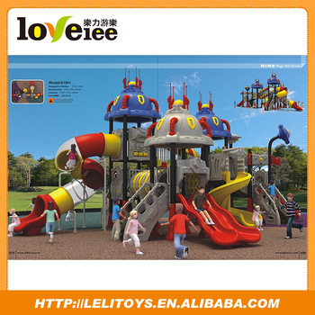 Children Paradise Large Outdoor Playground Equipment Sale