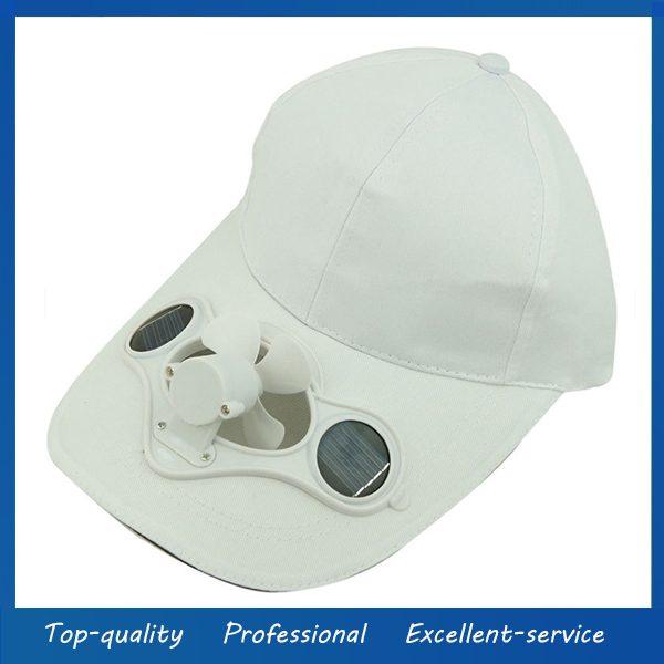 Cool solar fan hat wholesale custom solar powered fan hats