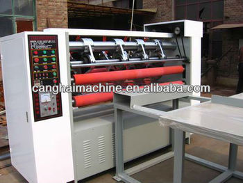 DDF Series Honeycomb Cardboard Single Blade Slicing Machine