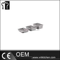 VNTA157 Stainless Steel 1/2 Gastronorm Container GN Pan