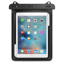Universal Waterproof Case Carrying Bag Case Pouch for Tablet Water Proof Dustproof Snowproof Cases for iPad Mini Galaxy Tab