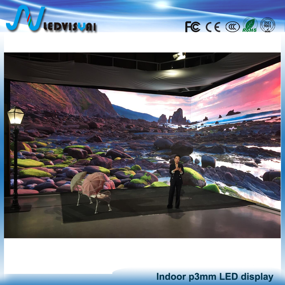 Professional manufacturer led display in China p3 led display indoor p3 led module