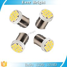 Led light car 12v led Ba9s 1206 10SMD AUTO led lamp,led car strobe flash light