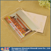 High quality acrylic photo funia double frame