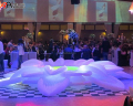 Giant Inflatable Flower Stage for Wedding Dancing Party