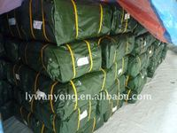 Any size green PE tarpaulin in linyi city manufacturer
