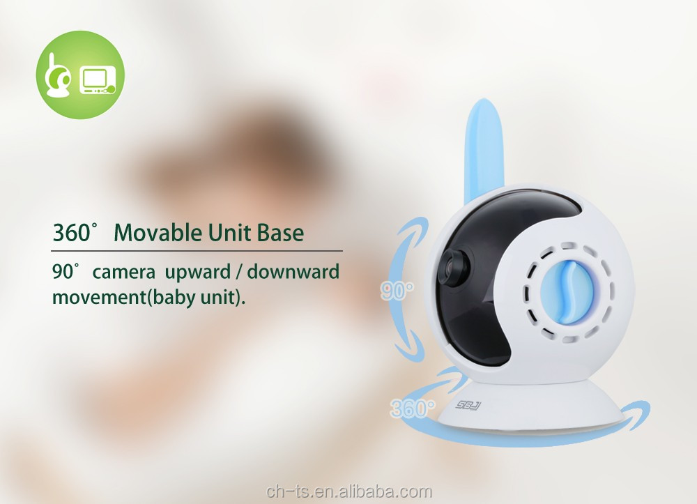 "3.5"" LCD Video Baby Monitor,Wireless Monitor, Music Lullabies"