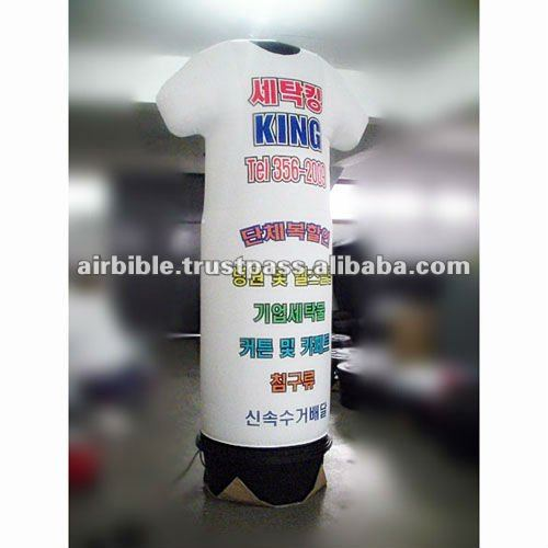 shirts advertising inflatables