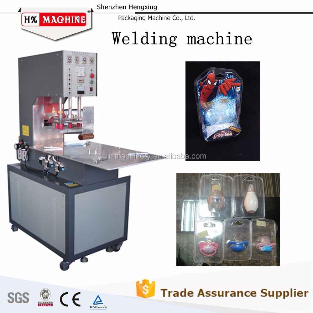 2015 Hot Selling High Frequency Blister Packaging Machine For Daily Stuff Packaging