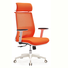 Custom New model expensive CEO chair orange chairman office chair 180KG