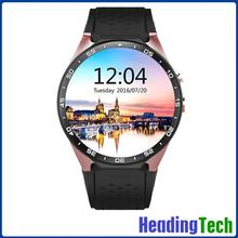 Watch English Movies Online Aliexpress Best Seller Men Smart Watch 3G Android WiFI Smartwatch KW88 GPS Sim