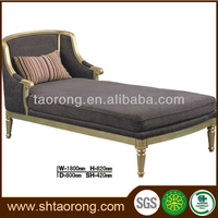 Custom made bedroom antique design wooden divan sofa bed