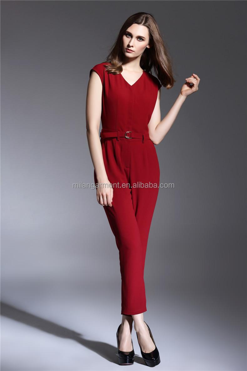 Wholesale Fashionable desing deep V neck sexy sleeveless formal ...