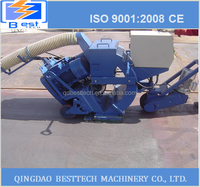 Road marking paint machine, floor surface shot blast cleaning machine