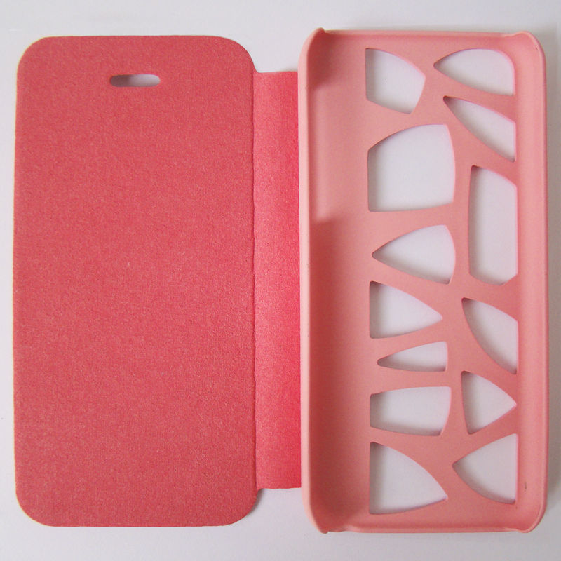 PU flip cover for iphone 5c case