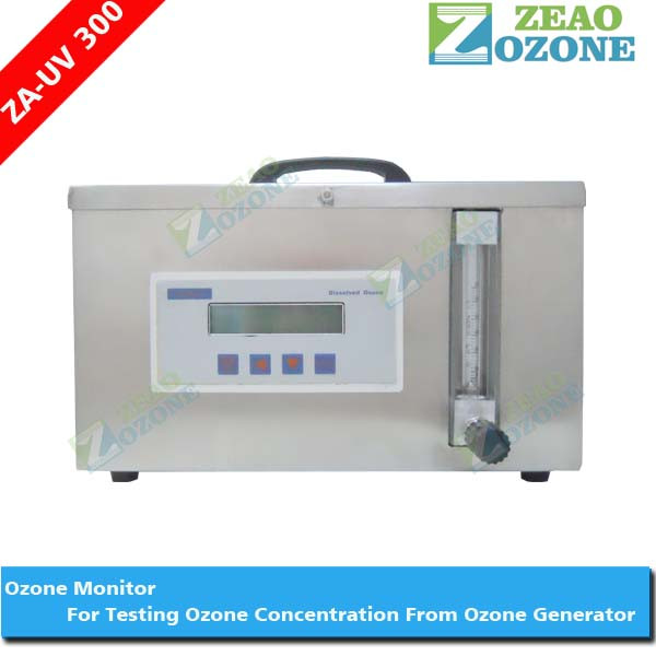 Portable uv ozone analyzer/ozone generator concentration detector