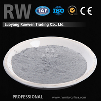 Supply hardened concrete admixture grey densified microsilica admixture
