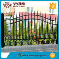2015 alibaba new product cheap price modern design fence panels/ simple design garden fence/metal fence