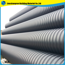 large diameter hdpe corrugated plastic concrete culvert pipe for sale