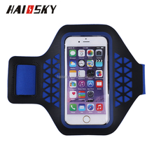 HAISSKY Waterproof Sports GYM Running Armband Case Bag For iPhone 7 6S Plus Phone Pouch Cover For Samsung Galaxy Note 7 S6