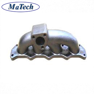 Custom Made Sand Casting Iron Tractor Exhaust Manifold