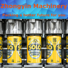 Brewers choice carbonated drinks automatic juice bottle aluminum foil sealing machine beer filling&capping line